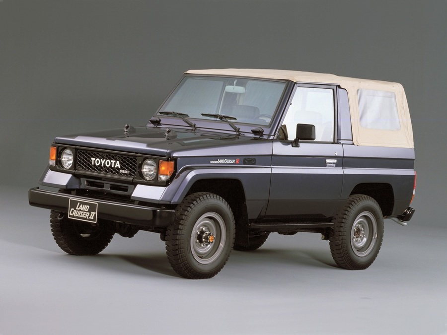 02 Land Cruiser 70 Series 1984