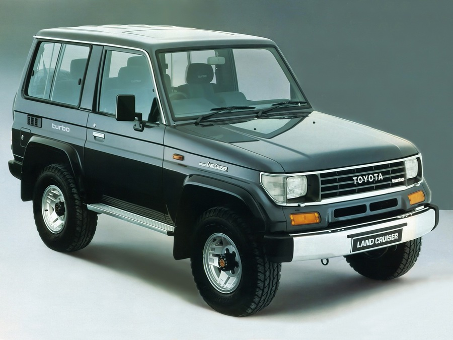 03 Land Cruiser 70 Series 1990