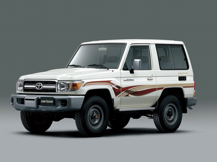 04 Land Cruiser 70 Series 2007