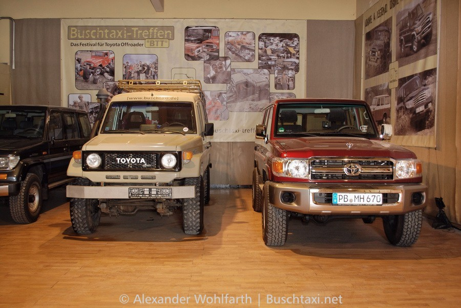 - Land Cruiser BJ75 - GRJ76