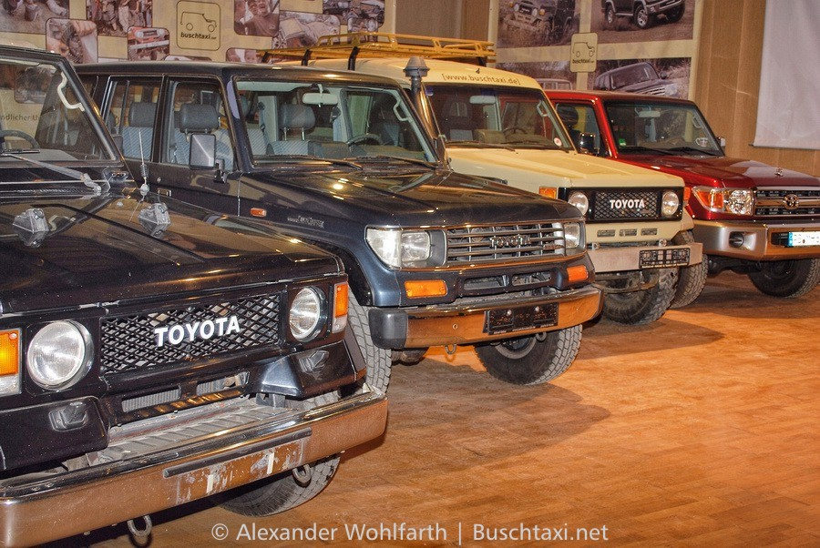 - Land Cruiser J7 Evolution