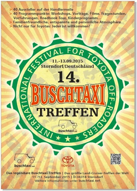 Plakate A1 BTT2015 Deutsch