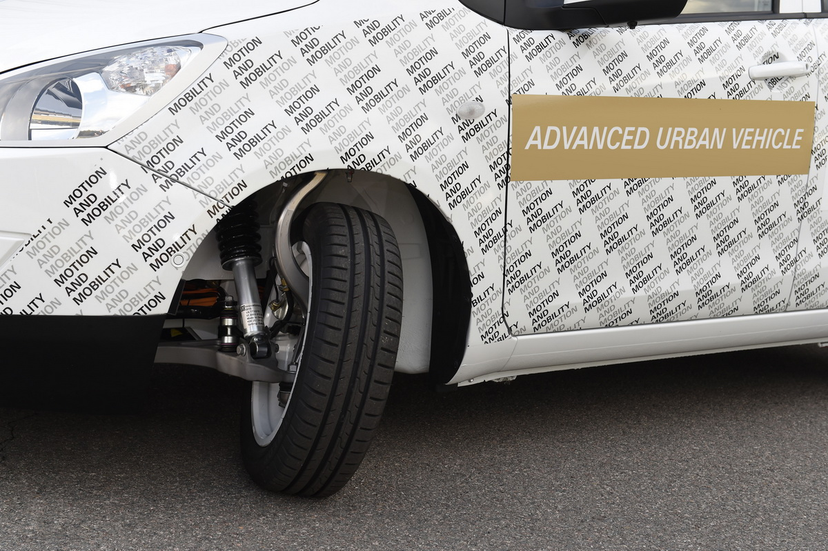 ZF Advanced Urban Vehicle 1