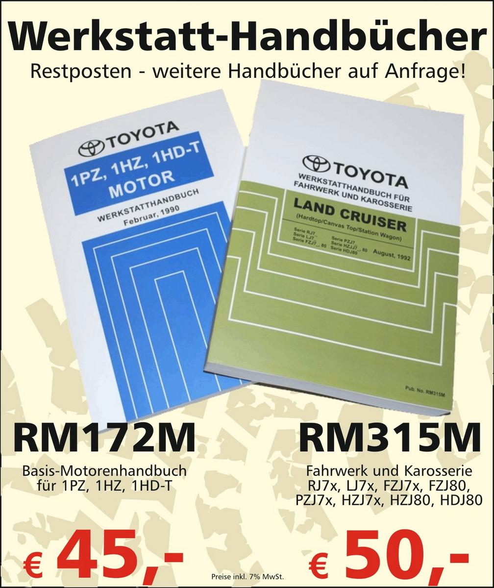 Werkstatt-Handbücher / Repair Manuals – Buschtaxi.net