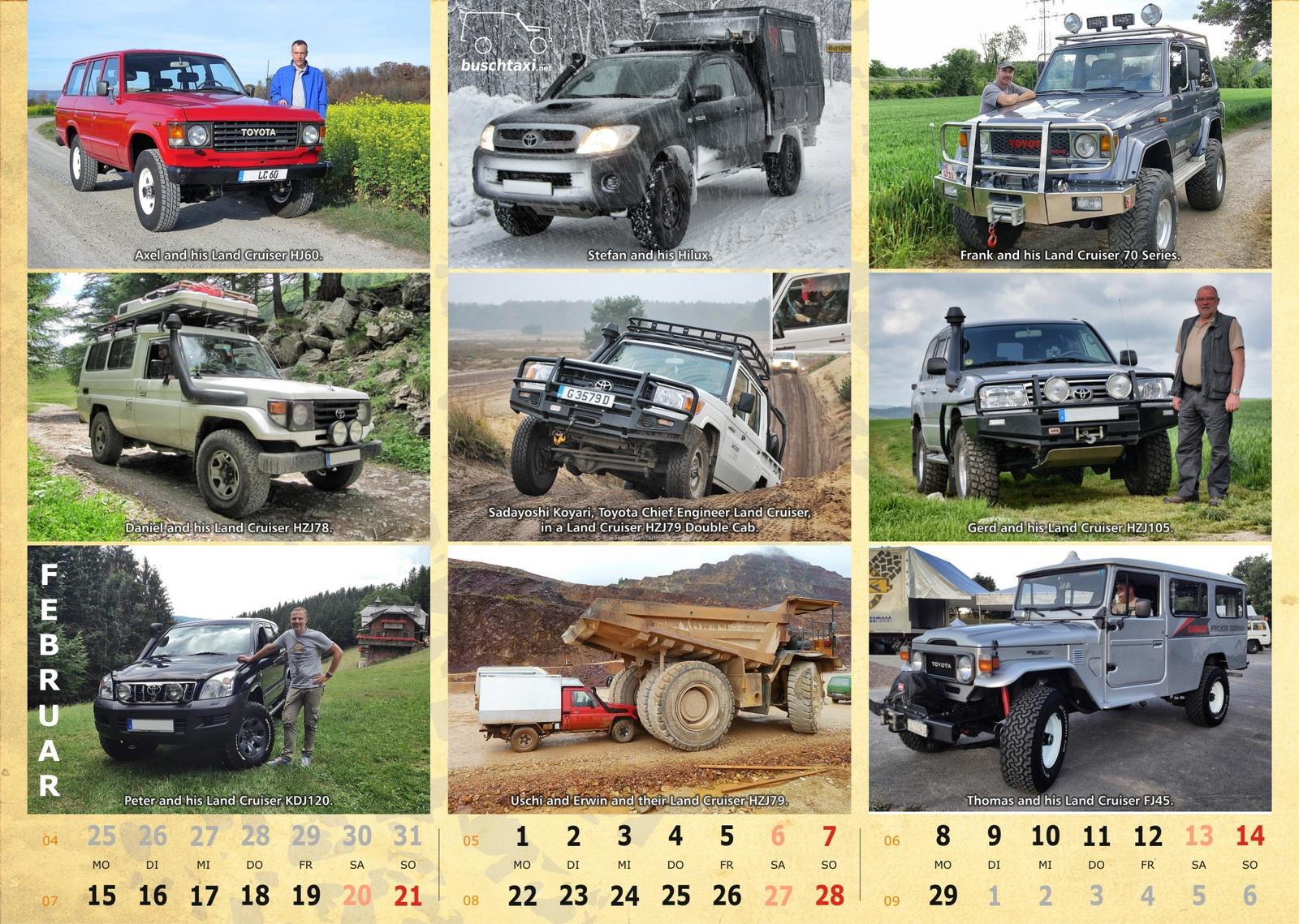 Buschtaxi-Kalender 2016-02