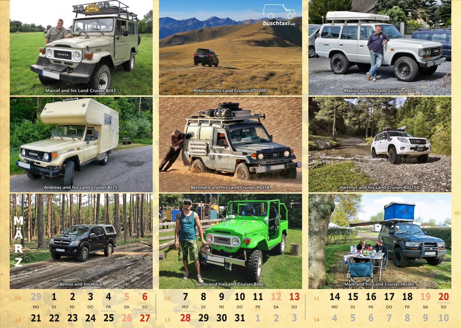 Buschtaxi-Kalender 2016-03