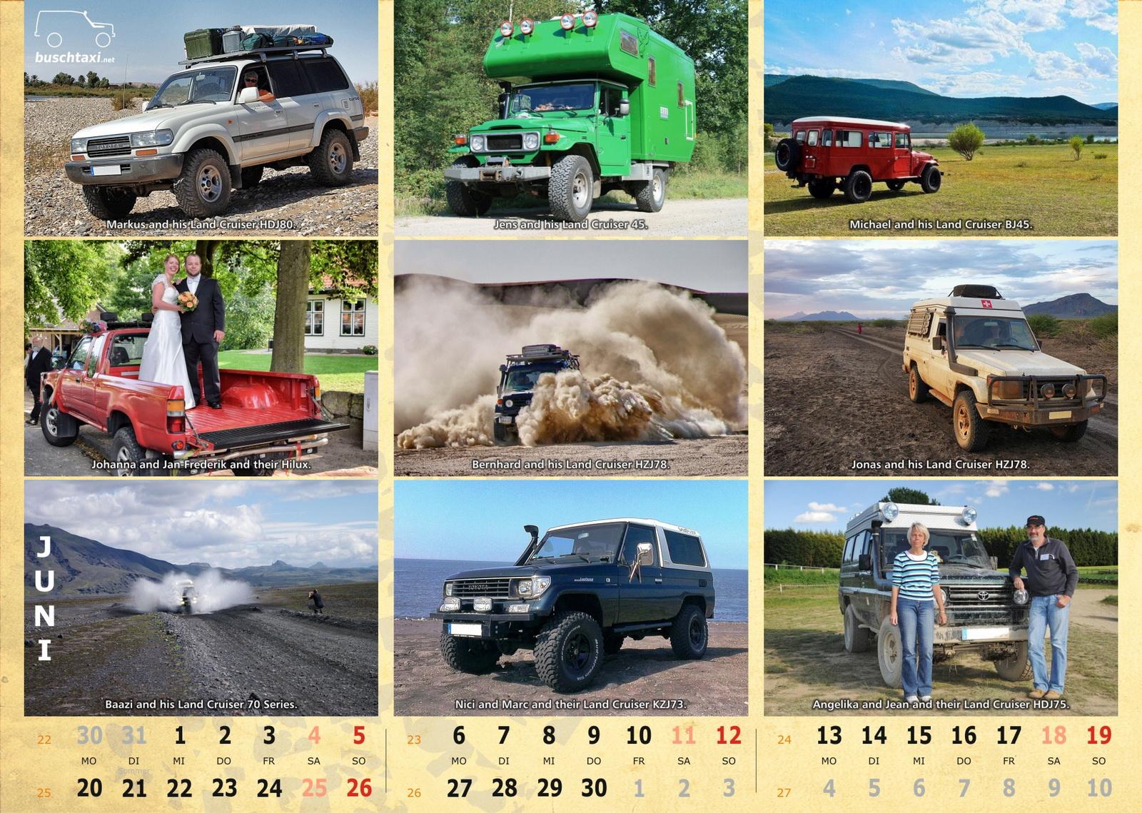 Buschtaxi-Kalender 2016-06