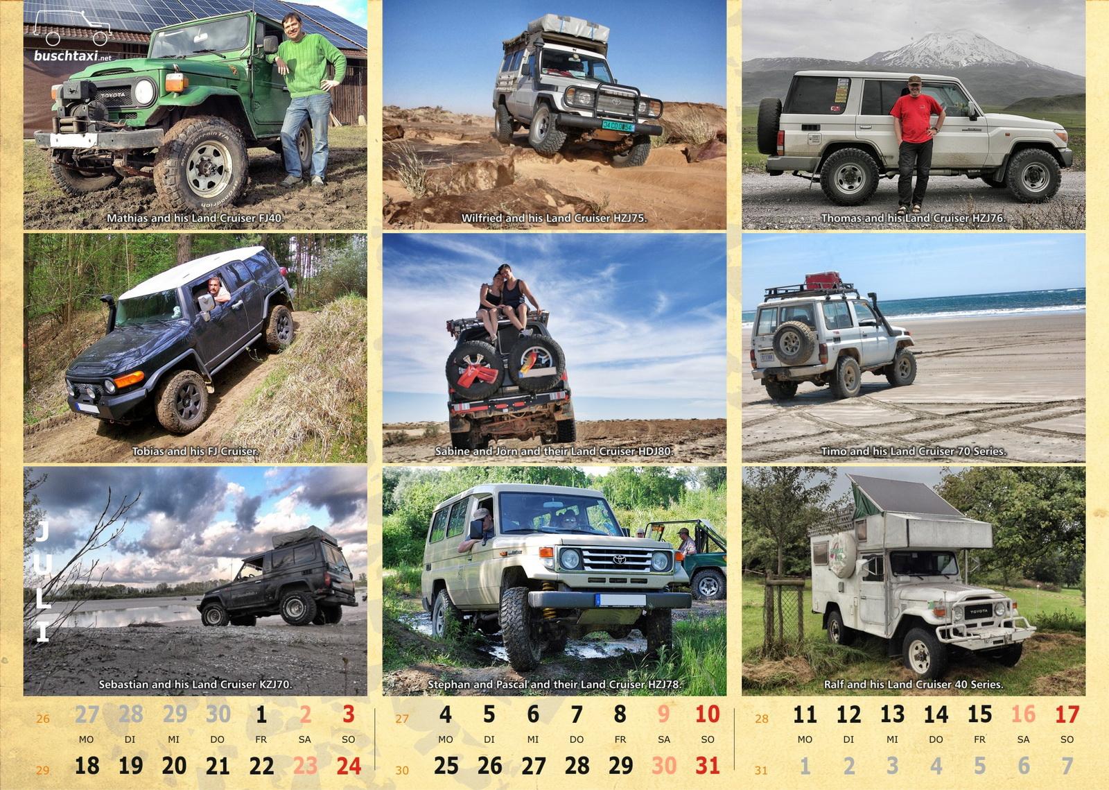Buschtaxi-Kalender 2016-07